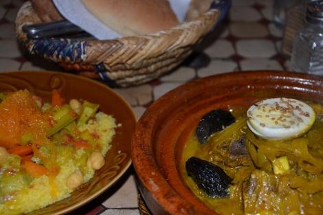 Couscous und Tajine