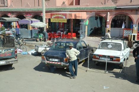 Eine Kleinstadt in Marokko