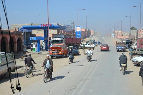 Marokkanische Straße