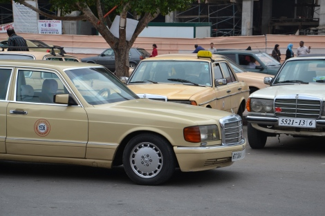 Taxis Baujahr anno dazumal