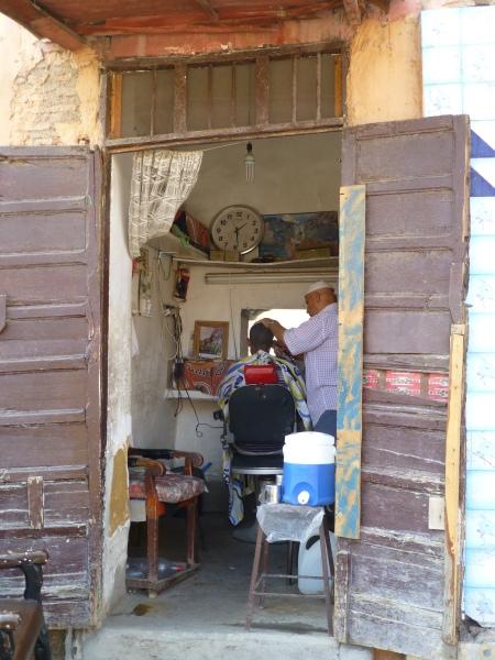 Beim marokkanischen Friseur