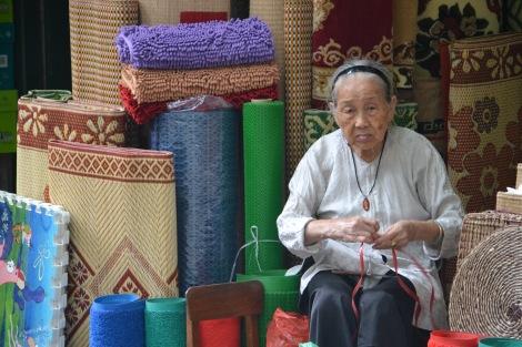 Old Vietnamese woman in Hanoi