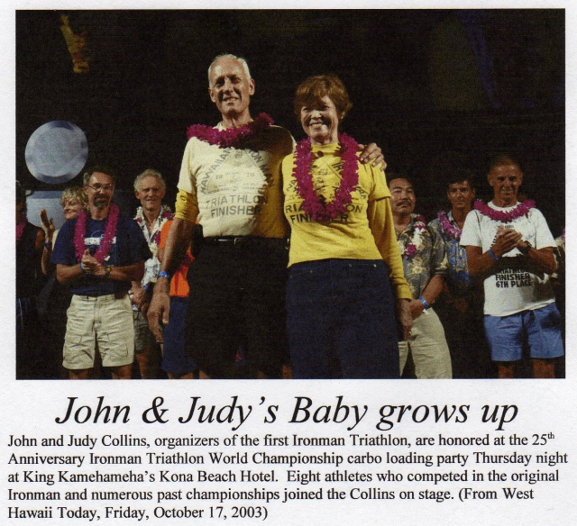 Image result for John and Judy Collins ironman