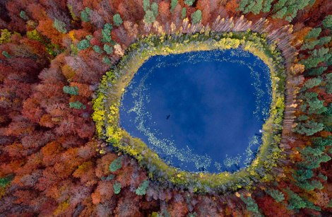 A Lake in Pomerania, Poland